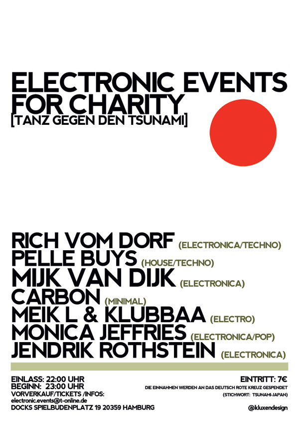 Electronic Events for charity